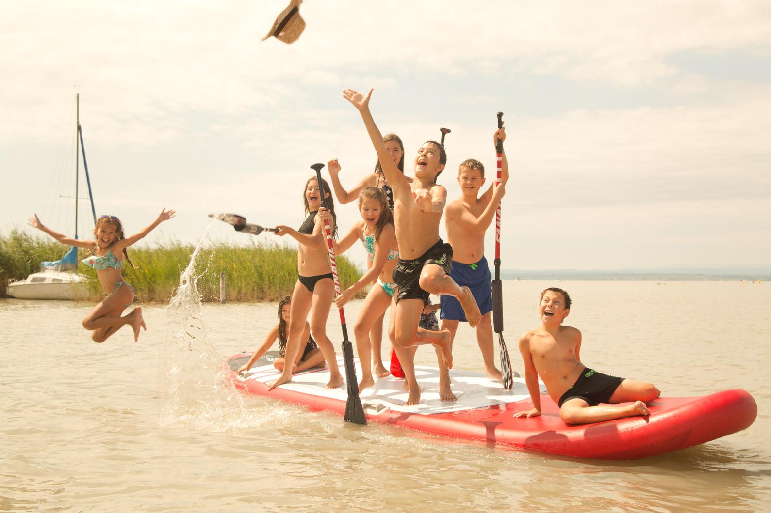 Familienurlaub am See